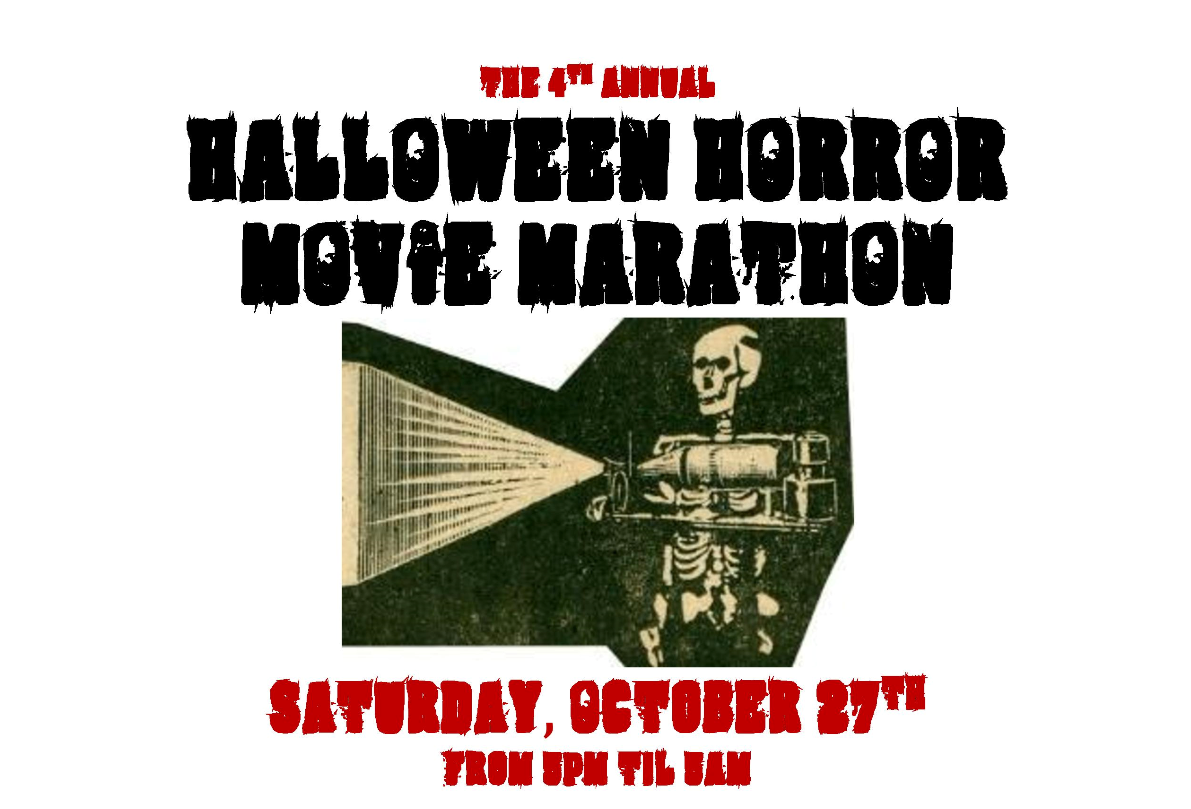 the 4th annual halloween horror movie marathon, cinema of the dam'd